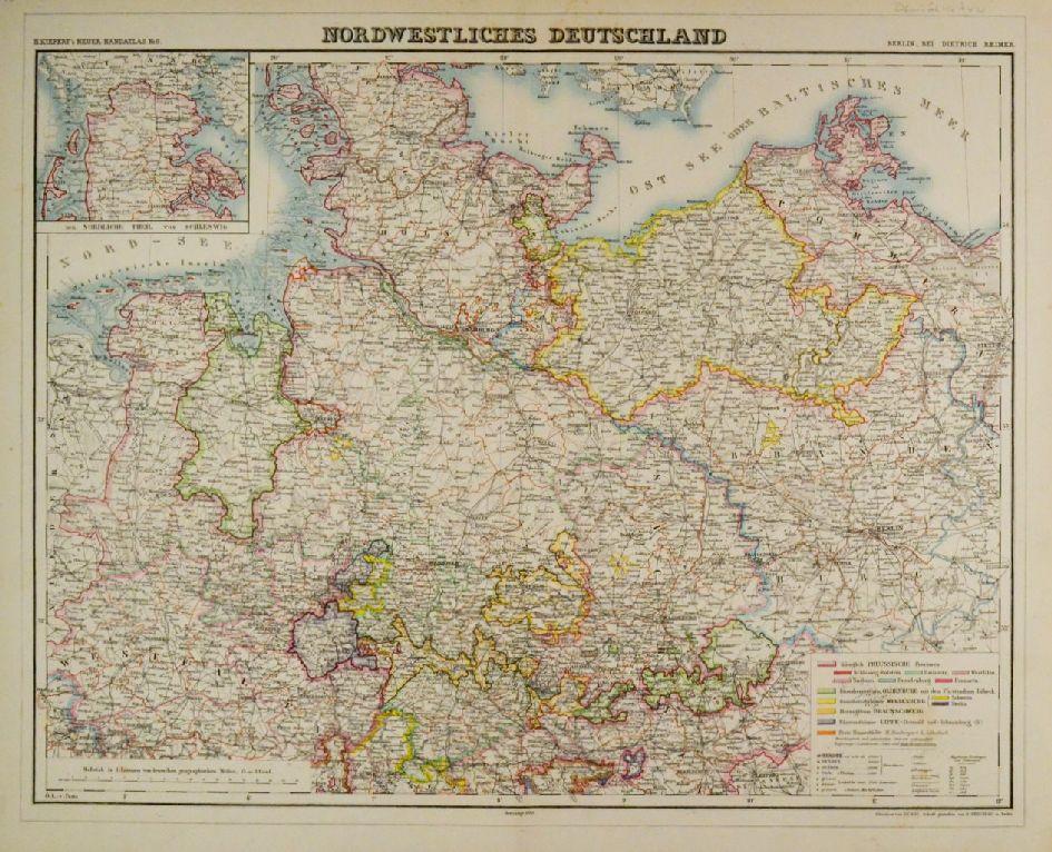 Norddeutschland Karte.Deutschland Norddeutschland Karte