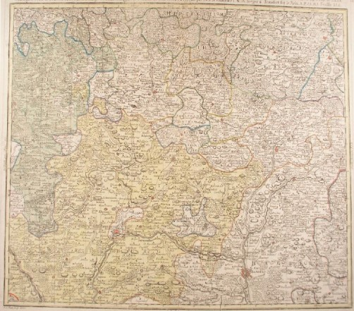 Oberfranken Karte.Franken Oberfranken Karte